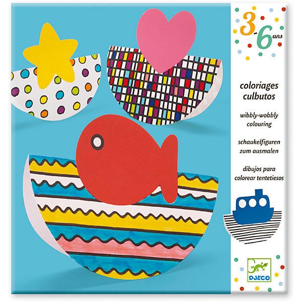 Купить Набор для рисования и создания поделок Вибли-Вобли , DJECO, Франция, Унисекс