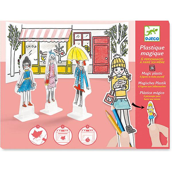 DJECO Необычный набор для раскрашивания Лучшие друзья djeco набор карточек для раскрашивания животные