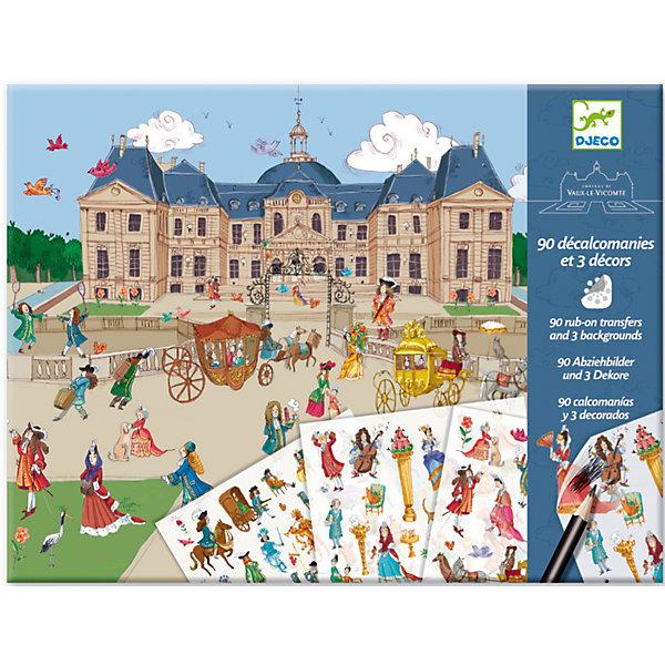 Купить Набор для творчества с переводными наклейками Виконт , DJECO, Франция, Унисекс