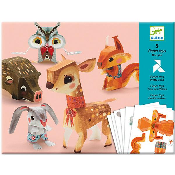 DJECO Волшебная бумага «Животные» djeco набор карточек для раскрашивания животные