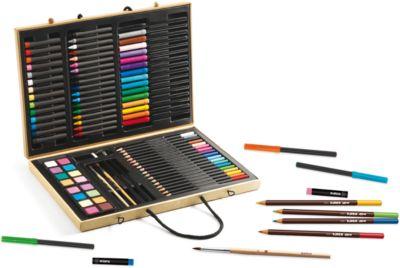 Большой художественный набор (88 предметов), артикул:4783888 - Товары для художников