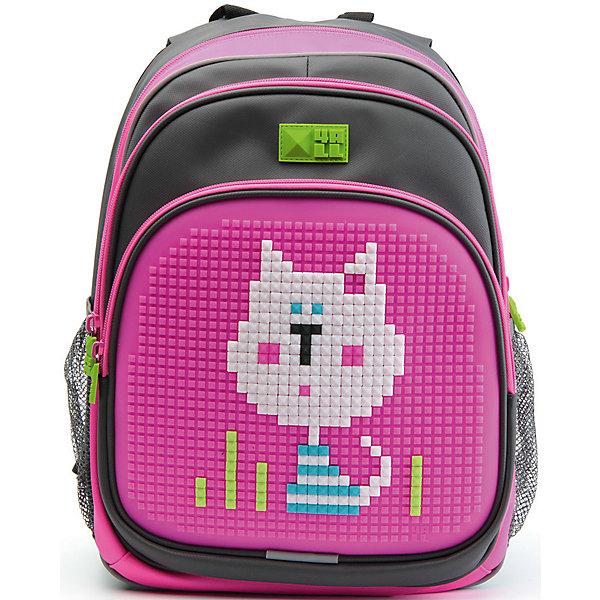 Купить 4ALL Рюкзак Kids, серо-розовый, Китай, Унисекс