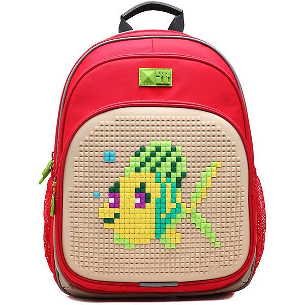 4ALL Рюкзак Kids, красно-сиреневыйРюкзаки<br>Рюкзак KIDS - это одновременно и яркий, функциональный школьный аксессуар, и безграничная площадка для самовыражения, способная подчеркнуть любой выбранный образ. С помощью уникальной силиконовой панели и набора пластиковых пикселей-битов можно декорировать фасад рюкзака, как угодно, полагаясь на свое воображение и вкус. А все материалы, задействованные при изготовлении, имеют специальную вода- и грязеотталкивающую пропитку, что гарантирует практичность, износостойкость и долговечность рюкзака.<br><br>Такой современный и интересный ранец будет прекрасным подарком к 1 сентября!<br><br>Особенности:<br>AIR COMFORT system:<br>- Система свободной циркуляции воздуха между задней стенкой рюкзака и спиной ребенка.<br>- Совместно с ортопедической спиной ERGO system эта система воздухообмена делает ежедневное использование рюкзаков KIDS безопасным для здоровья и максимально комфортным!<br>ERGO system:<br>- Разработанная нами система ERGO служит равномерному распределению нагрузки на спину ребенка. Она способна сделать рюкзак, наполненный учебниками, легким. ERGO служит сохранению правильной осанки и заботится о здоровье позвоночника!<br>Ортопедическая спина:<br>- Важное свойство наших рюкзаков - ортопедическая спина! Способна как корсет поддерживать позвоночник, правильно распределяя нагрузку, а так же обеспечивает циркуляцию воздуха между задней стенкой рюкзака и спиной ребенка!<br>А также:<br>- Гипоаллергенный силикон;<br>- Водоотталкивающие материалы;<br>- Устойчивость всех материалов к температурам воздуха ниже 0!<br><br>Дополнительная информация:<br><br>- Рюкзак уже содержит 1 упаковку разноцветных пикселей-битов (300 шт.) для создания картинок<br>- Цвет: красно-сиреневый;<br>- Объем рюкзака: 22 л.<br>- Размер в упаковке: 39х27х15 см.<br>- Вес в упаковке: 950 г.<br><br>Рюкзак Kids в  красно-сиреневом цвете , можно купить в нашем магазине.<br>Ширина мм: 390; Глубина мм: 270; Высота мм: 150; Вес г: 950; Возраст от месяцев: 36; В