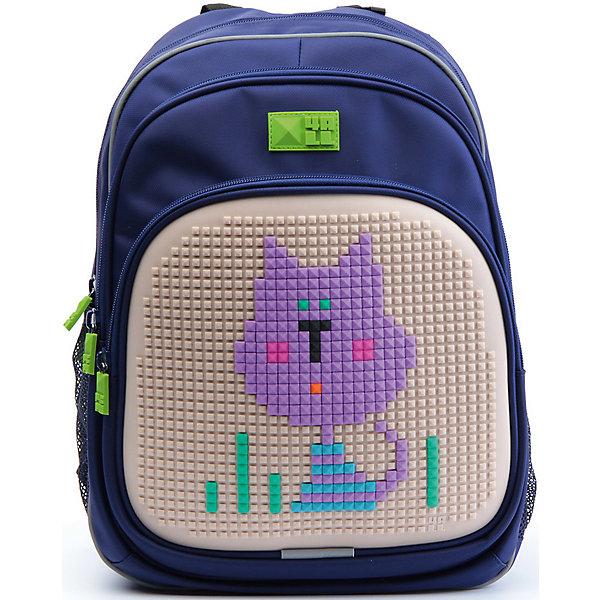 4ALL Рюкзак Kids, синийРюкзаки<br>Рюкзак KIDS - это одновременно и яркий, функциональный школьный аксессуар, и безграничная площадка для самовыражения, способная подчеркнуть любой выбранный образ. С помощью уникальной силиконовой панели и набора пластиковых пикселей-битов можно декорировать фасад рюкзака, как угодно, полагаясь на свое воображение и вкус. А все материалы, задействованные при изготовлении, имеют специальную вода- и грязеотталкивающую пропитку, что гарантирует практичность, износостойкость и долговечность рюкзака.<br><br>Такой современный и интересный ранец будет прекрасным подарком к 1 сентября!<br><br>Особенности:<br>AIR COMFORT system:<br>- Система свободной циркуляции воздуха между задней стенкой рюкзака и спиной ребенка.<br>- Совместно с ортопедической спиной ERGO system эта система воздухообмена делает ежедневное использование рюкзаков KIDS безопасным для здоровья и максимально комфортным!<br>ERGO system:<br>- Разработанная нами система ERGO служит равномерному распределению нагрузки на спину ребенка. Она способна сделать рюкзак, наполненный учебниками, легким. ERGO служит сохранению правильной осанки и заботится о здоровье позвоночника!<br>Ортопедическая спина:<br>- Важное свойство наших рюкзаков - ортопедическая спина! Способна как корсет поддерживать позвоночник, правильно распределяя нагрузку, а так же обеспечивает циркуляцию воздуха между задней стенкой рюкзака и спиной ребенка!<br>А также:<br>- Гипоаллергенный силикон;<br>- Водоотталкивающие материалы;<br>- Устойчивость всех материалов к температурам воздуха ниже 0!<br><br>Дополнительная информация:<br><br>- Рюкзак уже содержит 1 упаковку разноцветных пикселей-битов (300 шт.) для создания картинок<br>- Цвет: синий;<br>- Объем рюкзака: 22 л.<br>- Размер в упаковке: 39х27х15 см.<br>- Вес в упаковке: 950 г.<br><br>Рюкзак Kids в синем цвете , можно купить в нашем магазине.<br>Ширина мм: 390; Глубина мм: 270; Высота мм: 150; Вес г: 950; Возраст от месяцев: 36; Возраст до месяцев: 144; Пол: Унисе