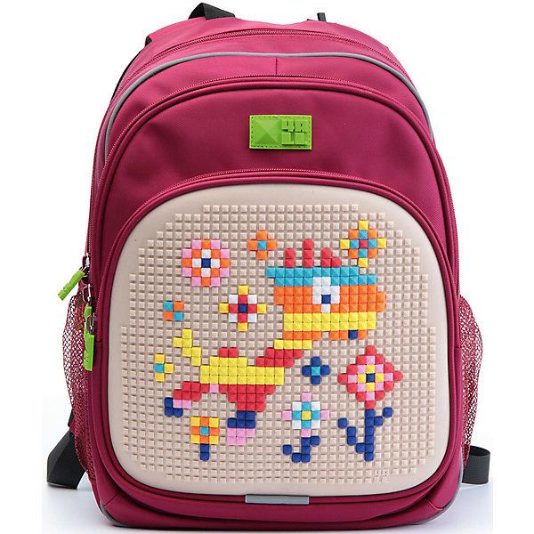 4ALL Рюкзак Kids, красныйСумки и рюкзаки<br>Рюкзак KIDS - это одновременно и яркий, функциональный школьный аксессуар, и безграничная площадка для самовыражения, способная подчеркнуть любой выбранный образ. С помощью уникальной силиконовой панели и набора пластиковых пикселей-битов можно декорировать фасад рюкзака, как угодно, полагаясь на свое воображение и вкус. А все материалы, задействованные при изготовлении, имеют специальную вода- и грязеотталкивающую пропитку, что гарантирует практичность, износостойкость и долговечность рюкзака.<br><br>Такой современный и интересный ранец будет прекрасным подарком к 1 сентября!<br><br>Особенности:<br>AIR COMFORT system:<br>- Система свободной циркуляции воздуха между задней стенкой рюкзака и спиной ребенка.<br>- Совместно с ортопедической спиной ERGO system эта система воздухообмена делает ежедневное использование рюкзаков KIDS безопасным для здоровья и максимально комфортным!<br>ERGO system:<br>- Разработанная нами система ERGO служит равномерному распределению нагрузки на спину ребенка. Она способна сделать рюкзак, наполненный учебниками, легким. ERGO служит сохранению правильной осанки и заботится о здоровье позвоночника!<br>Ортопедическая спина:<br>- Важное свойство наших рюкзаков - ортопедическая спина! Способна как корсет поддерживать позвоночник, правильно распределяя нагрузку, а так же обеспечивает циркуляцию воздуха между задней стенкой рюкзака и спиной ребенка!<br>А также:<br>- Гипоаллергенный силикон;<br>- Водоотталкивающие материалы;<br>- Устойчивость всех материалов к температурам воздуха ниже 0!<br><br>Дополнительная информация:<br><br>- Рюкзак уже содержит 1 упаковку разноцветных пикселей-битов (300 шт.) для создания картинок<br>- Цвет: красный;<br>- Объем рюкзака: 22 л.<br>- Размер в упаковке: 39х27х15 см.<br>- Вес в упаковке: 950 г.<br><br>Рюкзак Kids в красном цвете , можно купить в нашем магазине.