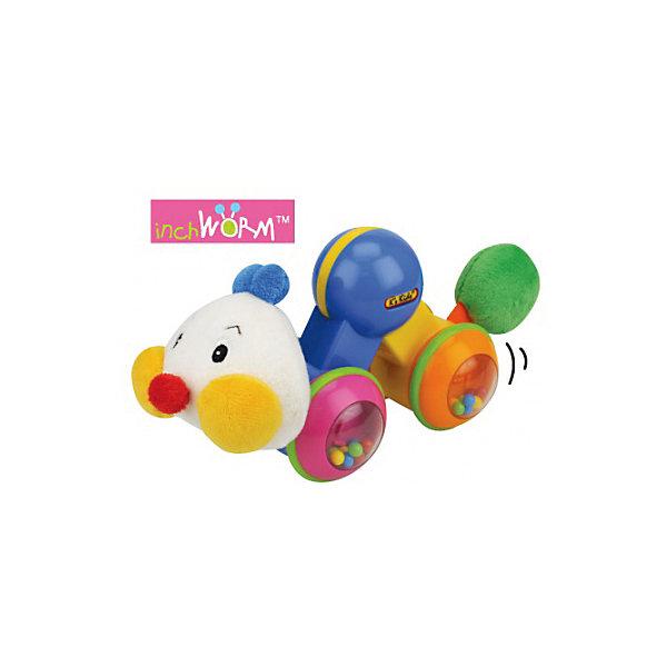 K's Kids Развивающая игрушка Гусеничка: нажми и догони, K's Kids развивающая игрушка k s kids гусеничка с прорезывателем