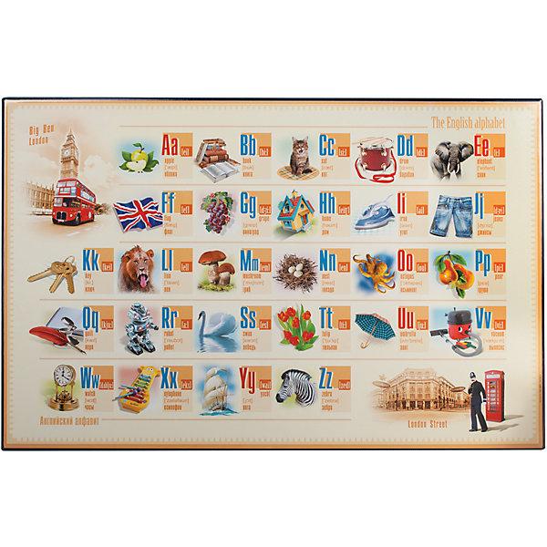 Купить Настольный коврик-подкладка для письма с английским алфавитом, ДПС, Россия, Унисекс