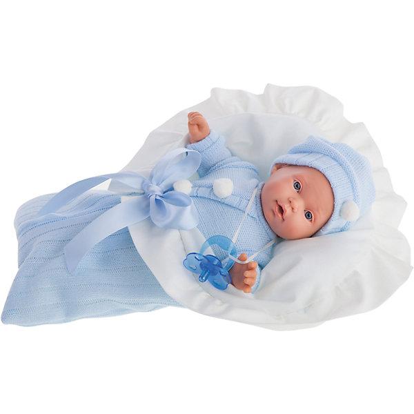 Купить Кукла Ланита в голубом, 27 см, Munecas Antonio Juan, Испания, Женский