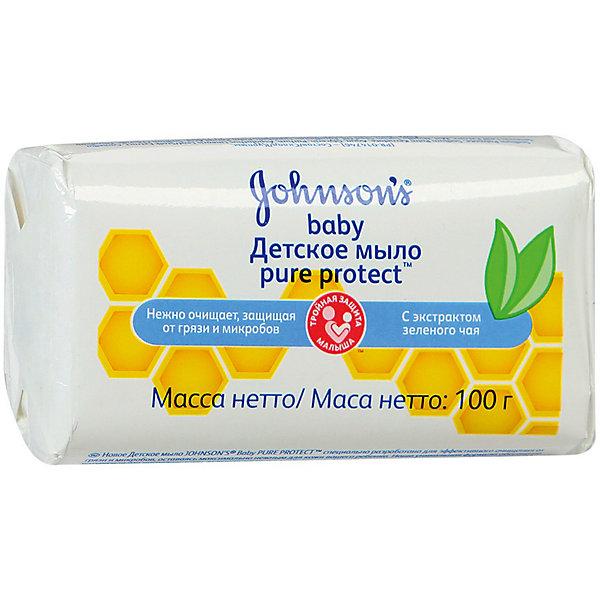 Johnson`s baby Детское мыло Pure Protect 100 гр ,