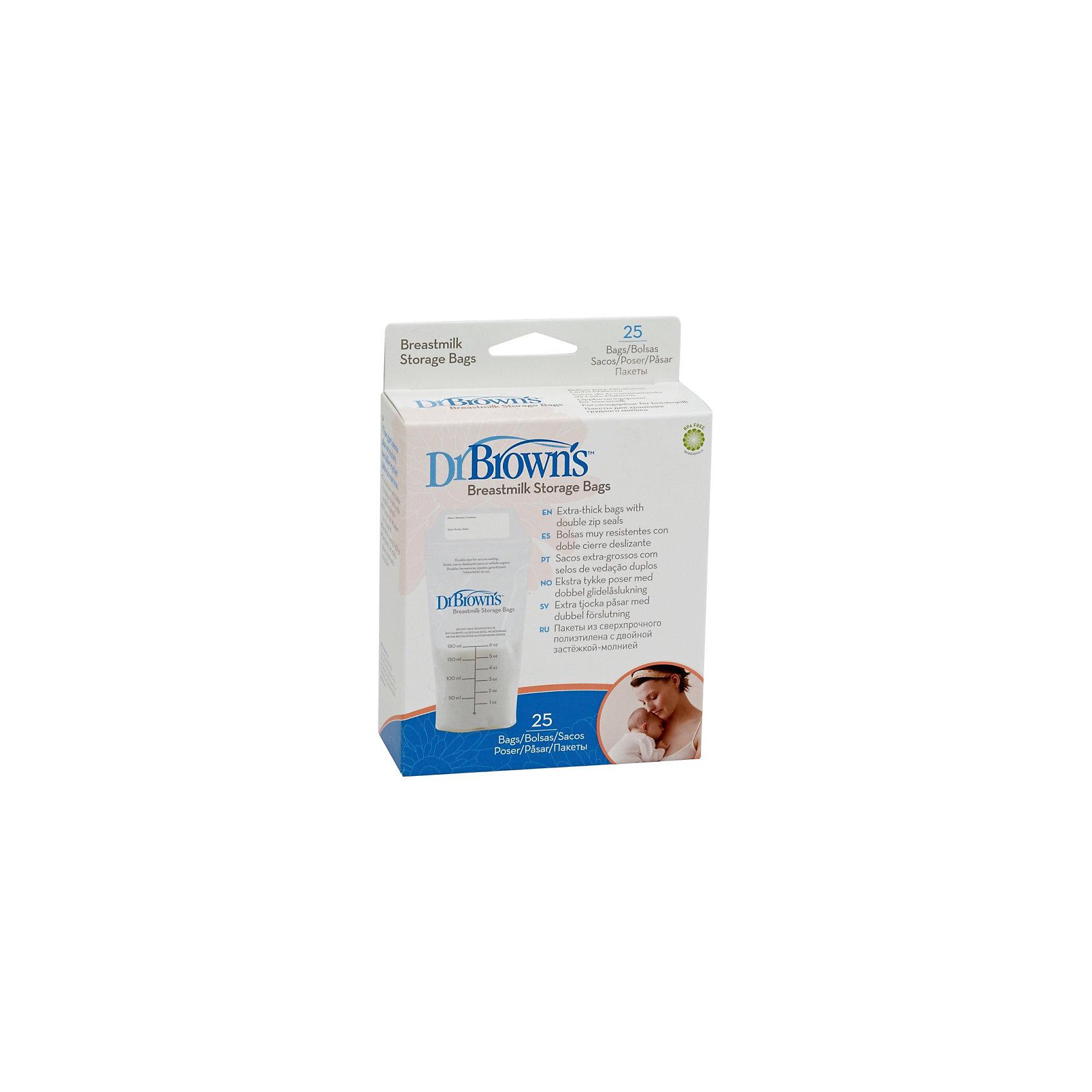 Пакеты для хранения грудного молока, 180 мл, Dr. Brown (Dr.Browns)