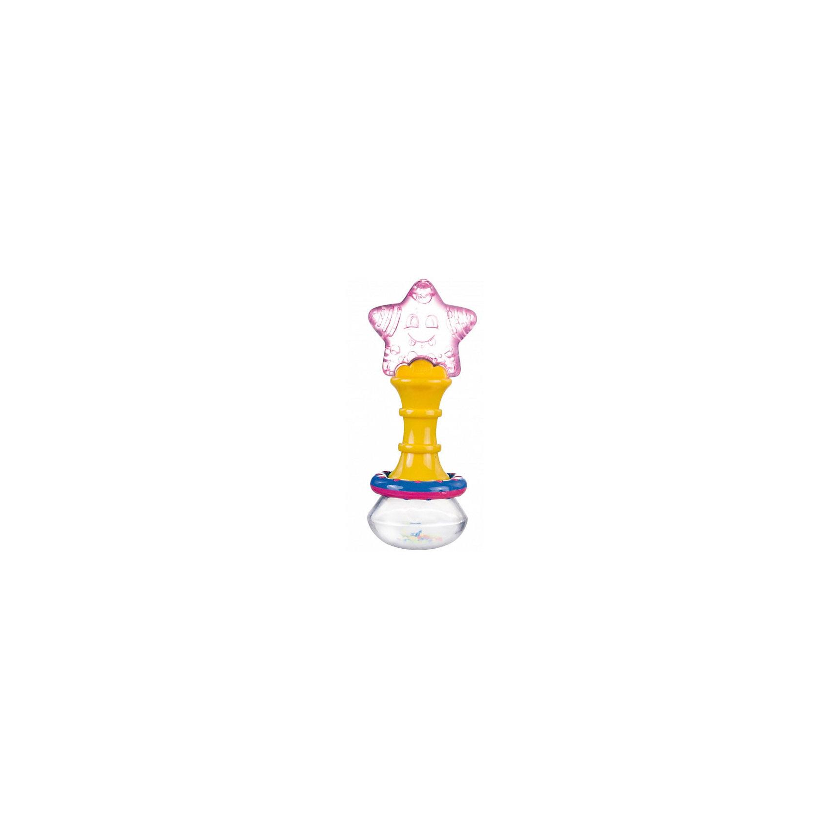 Погремушка, Canpol Babies, желто-розовая