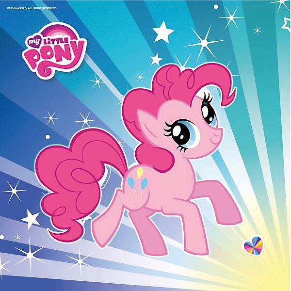 Набор из 12-и салфеток, My Little PonyВечеринка с Пони<br>Набор из 12-ти салфеток Мои маленькие пони украсят ваш праздничный стол!<br>Красивая лошадка, изображенная на салфетке, вызовет улыбку и поможет вспомнить интересные приключения, о которых рассказывалось в популярном мультфильме. Салфетки изготовлены из тонкой бумаги, которая хорошо впитывает влагу.<br><br>Дополнительная информация:<br><br>- Материал: бумага.<br>- Комплект: 12 шт.<br>- Размер упаковки: 18х23х1 см.<br>- Вес в упаковке: 60 г.<br><br>Купить набор из 12-и салфеток, My Little Pony   можно в нашем магазине.<br>Ширина мм: 18; Глубина мм: 23; Высота мм: 1; Вес г: 60; Возраст от месяцев: 12; Возраст до месяцев: 2147483647; Пол: Женский; Возраст: Детский; SKU: 4797422;