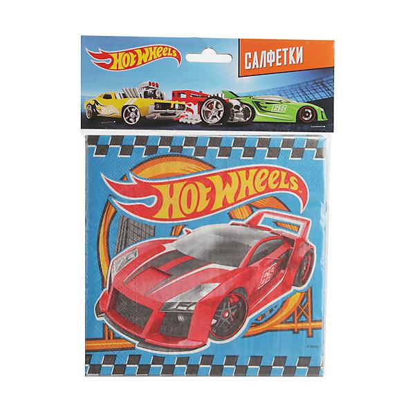 Фотография товара набор из 12-и салфеток, Hot Wheels (4797424)