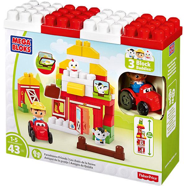 Фото - Mattel Игровой набор - конструктор Скотный двор, MEGA BLOKS конструктор автомобильный парк 7 в 1