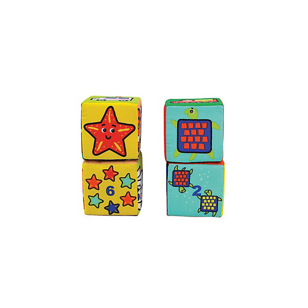 Купить Мягкие кубики K's Kids Кубики-пазлы , Китай, Унисекс
