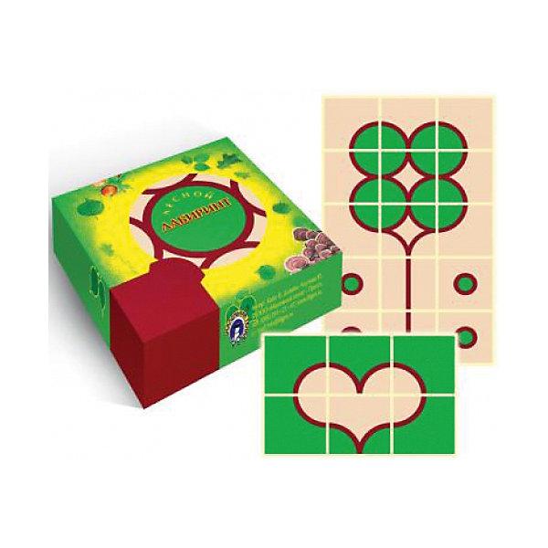 """Маленький гений Игровые карточки """"Лесной лабиринт"""""""