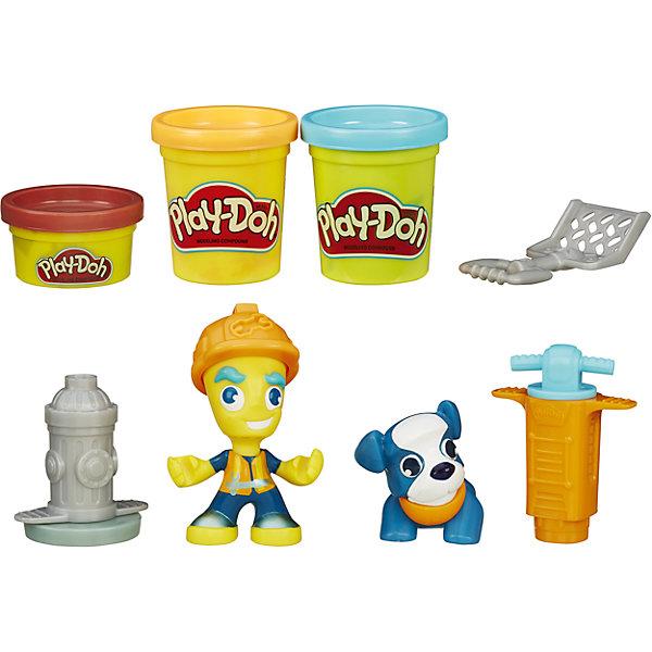 Купить Игровой набор Житель и питомец , Город, Play-Doh, B3411/B5972, Hasbro, Китай, красный, Унисекс