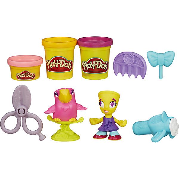 Игровой набор Житель и питомец , Город, Play-Doh, B3411/B5973, Hasbro, Китай, розовый, Унисекс  - купить со скидкой
