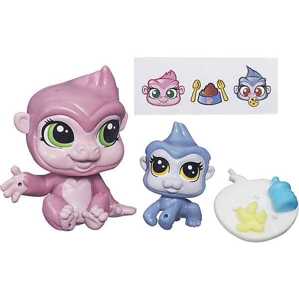 Hasbro Зверюшка и ее малыш, Littlest Pet Shop, А7313/B4764 фигурки игрушки littlest pet shop игрушка зверюшка