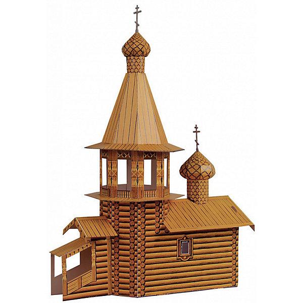 Умная Бумага Сборная модель Деревянная церковь умная бумага сборная модель из картона путевая сторожка эпоха i м1 87 298