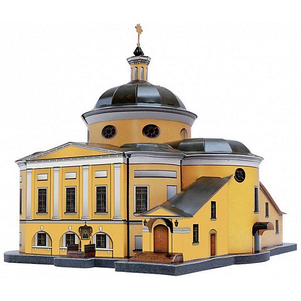 Умная Бумага Сборная модель Покровский Храм Ставропигиального женского монастыря (Матрона Московская)