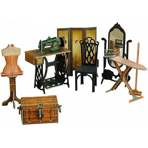 Умная Бумага Сборная модель Швейная мастерская