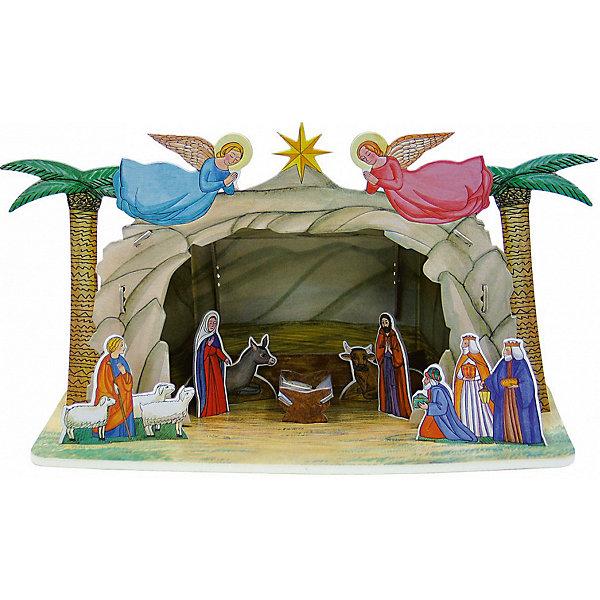 Умная Бумага Сборная модель Рождественский вертеп