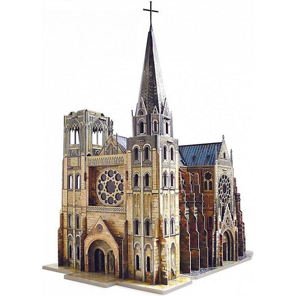 Умная Бумага Сборная модель Готический собор сборная модель из картона умная бумага гидроплан 13дет 439