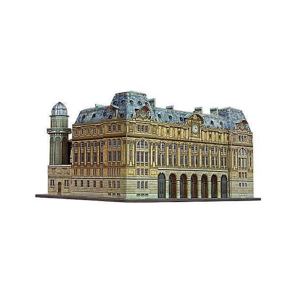Умная Бумага Сборная модель Вокзал Сен-Лазар