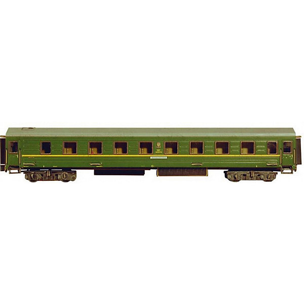 Умная Бумага Сборная модель Спальный вагон eichhorn вагон с цистерной