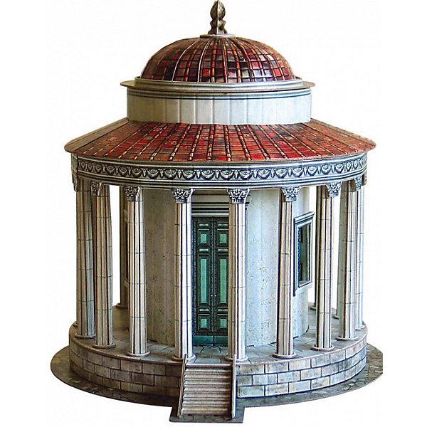Умная Бумага Сборная модель Храм Весты в Тиволи