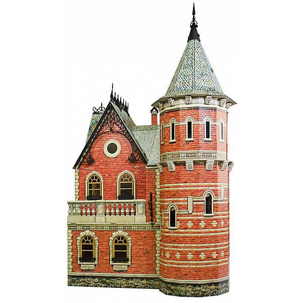 Сборная модель Кукольный ДомМодели из бумаги<br>Кукольный Дом - Сюжетный игровой набор из плотного картона. Серия: Кукольный дом и мебель. Количество деталей, шт: 134. Размер в собранном виде, см: 46 x 32 x 76. Размер упаковки, мм.:  высота 493 ширина 350 глубина 37. Тип упаковки: Картонная коробка. Вес, гр.: 3185. Возраст: от 7 лет. Все модели и игрушки, созданные по технологии УМНАЯ БУМАГА собираются без ножниц и клея, что является их неповторимой особенностью.<br>Принцип соединения деталей запатентован. Соединения деталей продуманы и просчитаны с такой точностью, что при правильной сборке с моделью можно играть, как с обычной игрушкой.<br>Ширина мм: 350; Глубина мм: 37; Высота мм: 493; Вес г: 3185; Возраст от месяцев: 84; Возраст до месяцев: 2147483647; Пол: Унисекс; Возраст: Детский; SKU: 4807487;