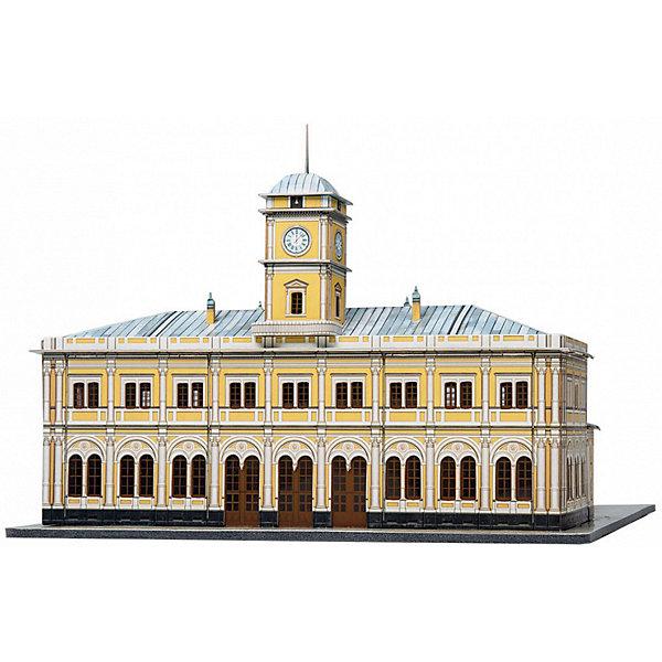 Умная Бумага Сборная модель Николаевский вокзал масштабные модели