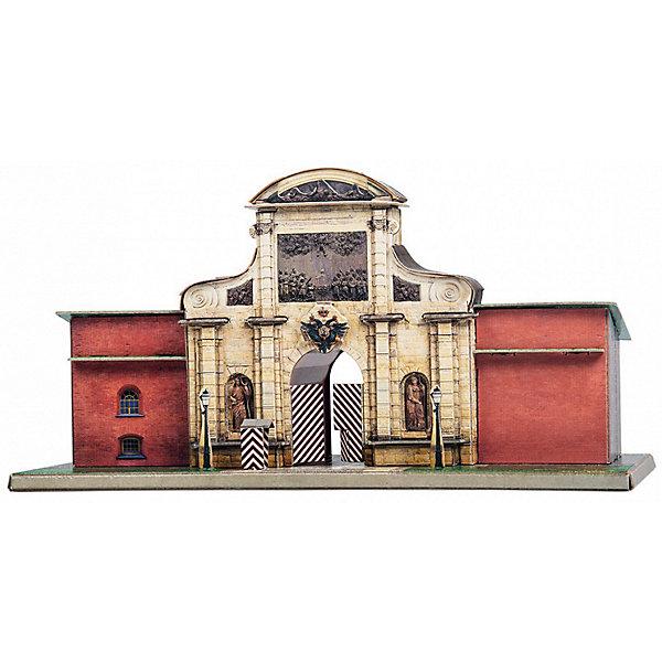 Умная Бумага Сборная модель Петровские ворота масштабные модели
