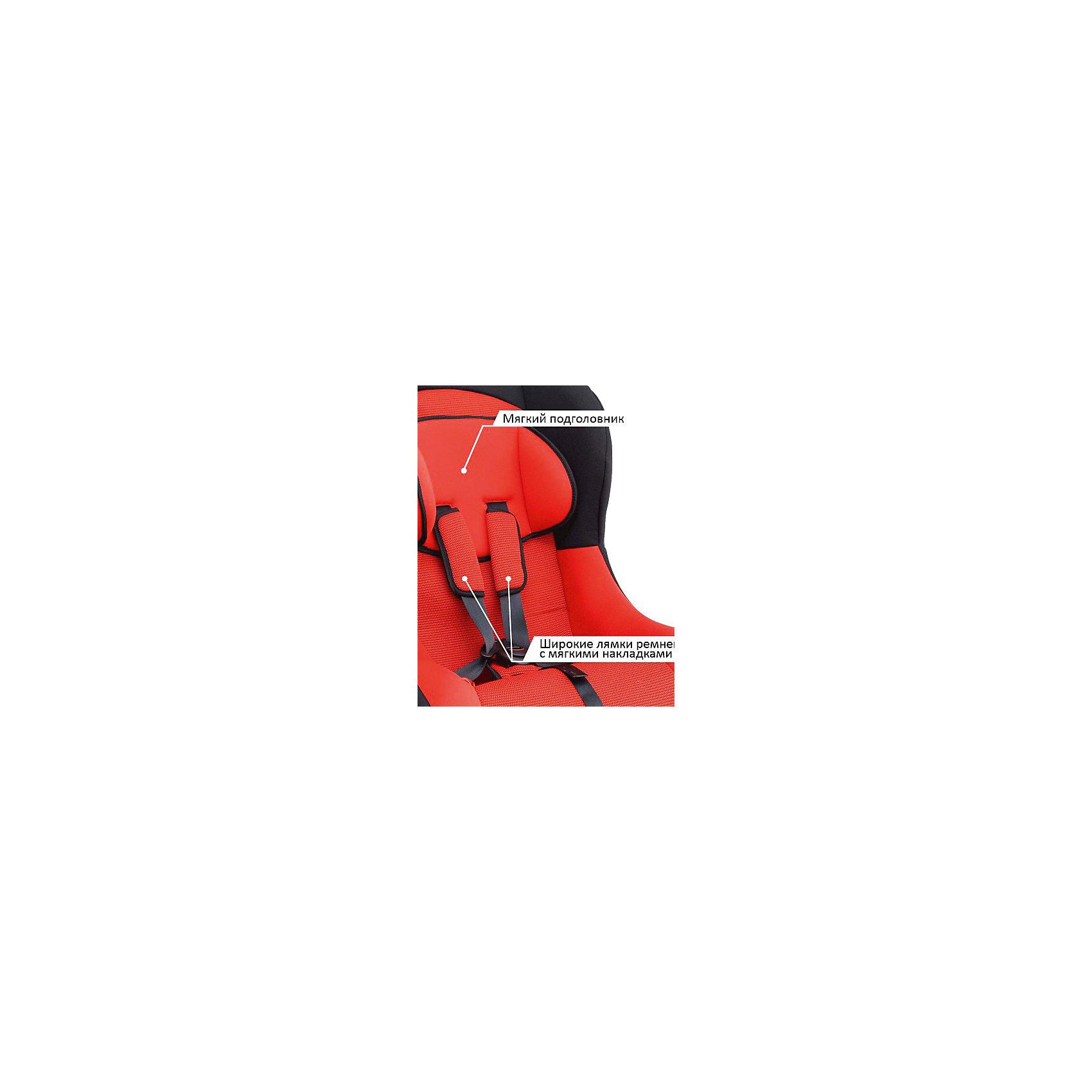 Автокресло Siger Тотем 0-18 кг, красный