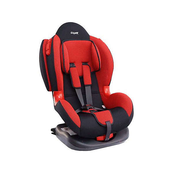 Siger Автокресло Siger Кокон isofix 9-25 кг, красный детское автомобильное кресло siger кокон isofix крес0119