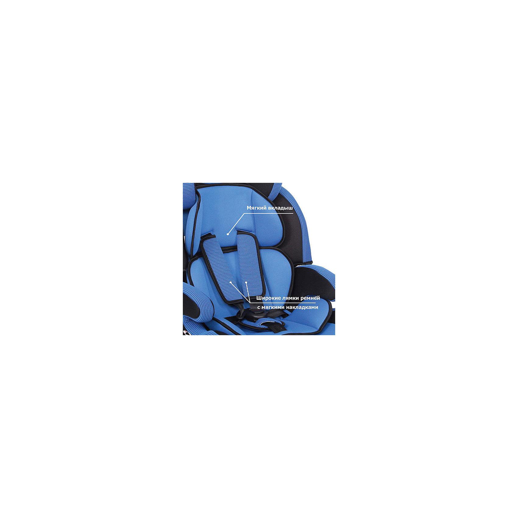 Автокресло Siger Стар, 9-36 кг, синий