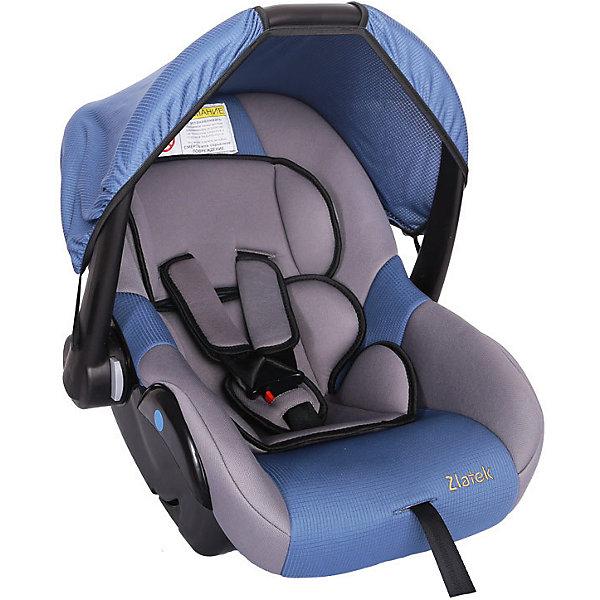 Zlatek Автокресло Zlatek Colibri 0-13 кг, детское автомобильное кресло colibri синее вес до 13 кг
