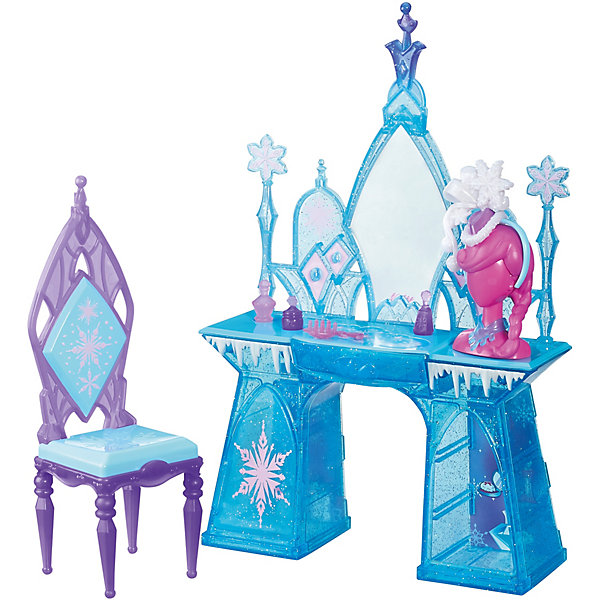 Купить Игровой набор Кровать Эльзы/Туалетный столик Эльзы , Холодное сердце, в ассортименте, Hasbro, Китай, Женский