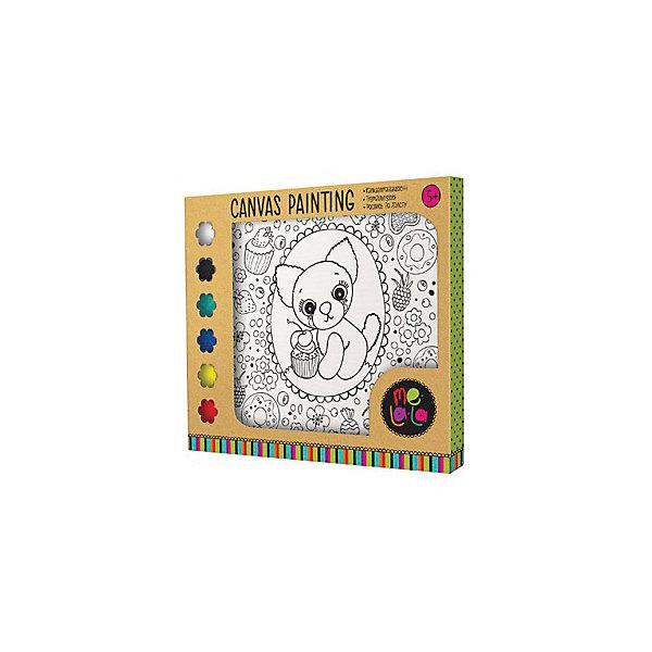 Роспись по холсту Собачка Fany, 20*20 смРаскраски на холсте<br>Роспись по холсту - прекрасное развивающие занятие для ребенка!<br>Набор способствует развитию собственного стиля ребенка, видения, воображения и творческих способностей!  <br>А самое главное, рисунок сделанный своими руками будет прекрасным и самым важным подарком маме!<br><br>В наборе: <br>- Холст на рамке.<br>- 6 красок.<br>- Кисточка.<br><br>Дополнительная информация:<br><br>- Возраст: с 5 лет.<br>- Размер холста: 20х20 см.<br>- Размер упаковки: 20х2х24 см.<br>- Вес в упаковке: 110 г.<br><br>Купить роспись по холсту Собачка Fany можно в нашем магазине.<br>Ширина мм: 200; Глубина мм: 20; Высота мм: 240; Вес г: 110; Возраст от месяцев: 60; Возраст до месяцев: 108; Пол: Женский; Возраст: Детский; SKU: 4823384;