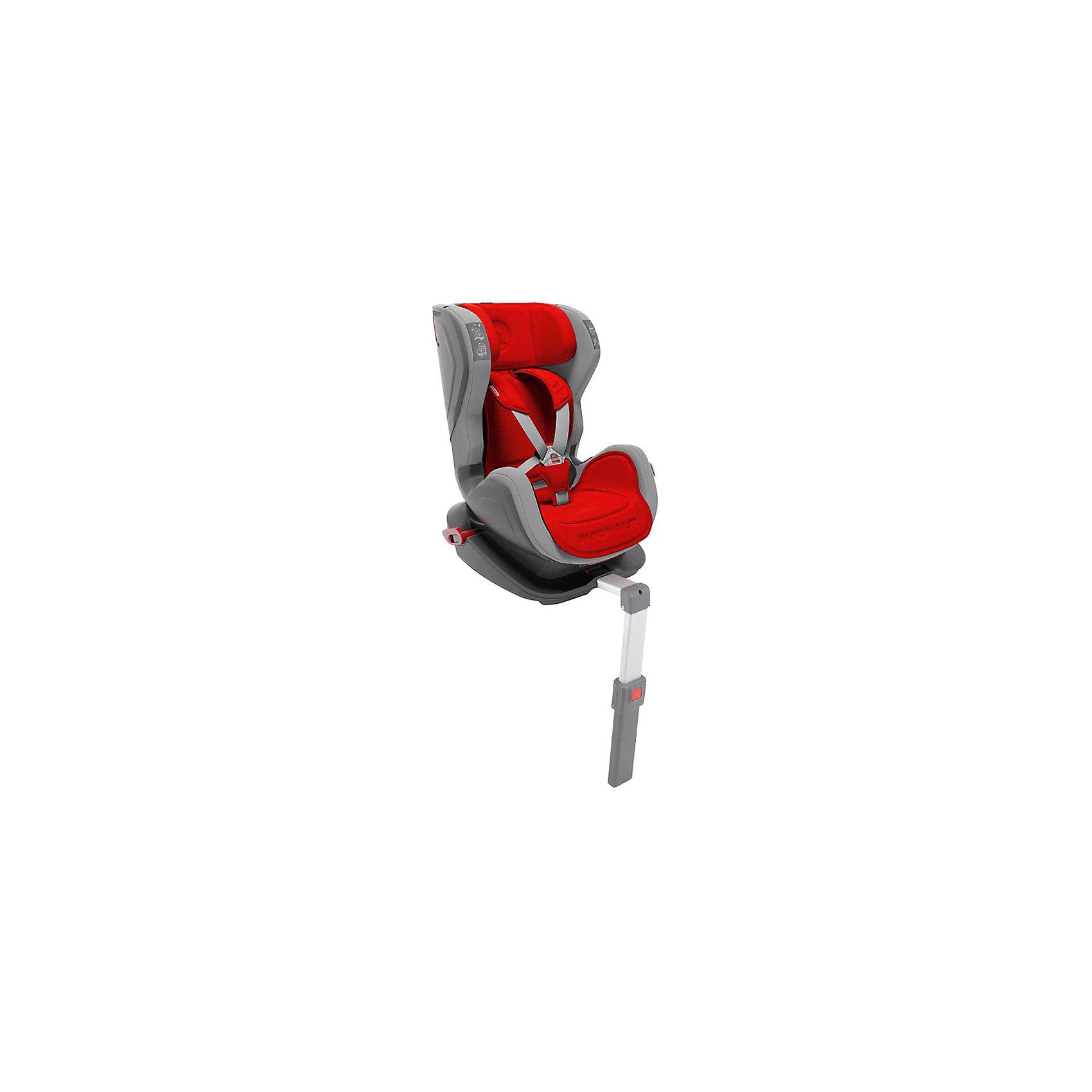 Автокресло Avionaut GLIDER isofix 9-25 кг, красный/серый