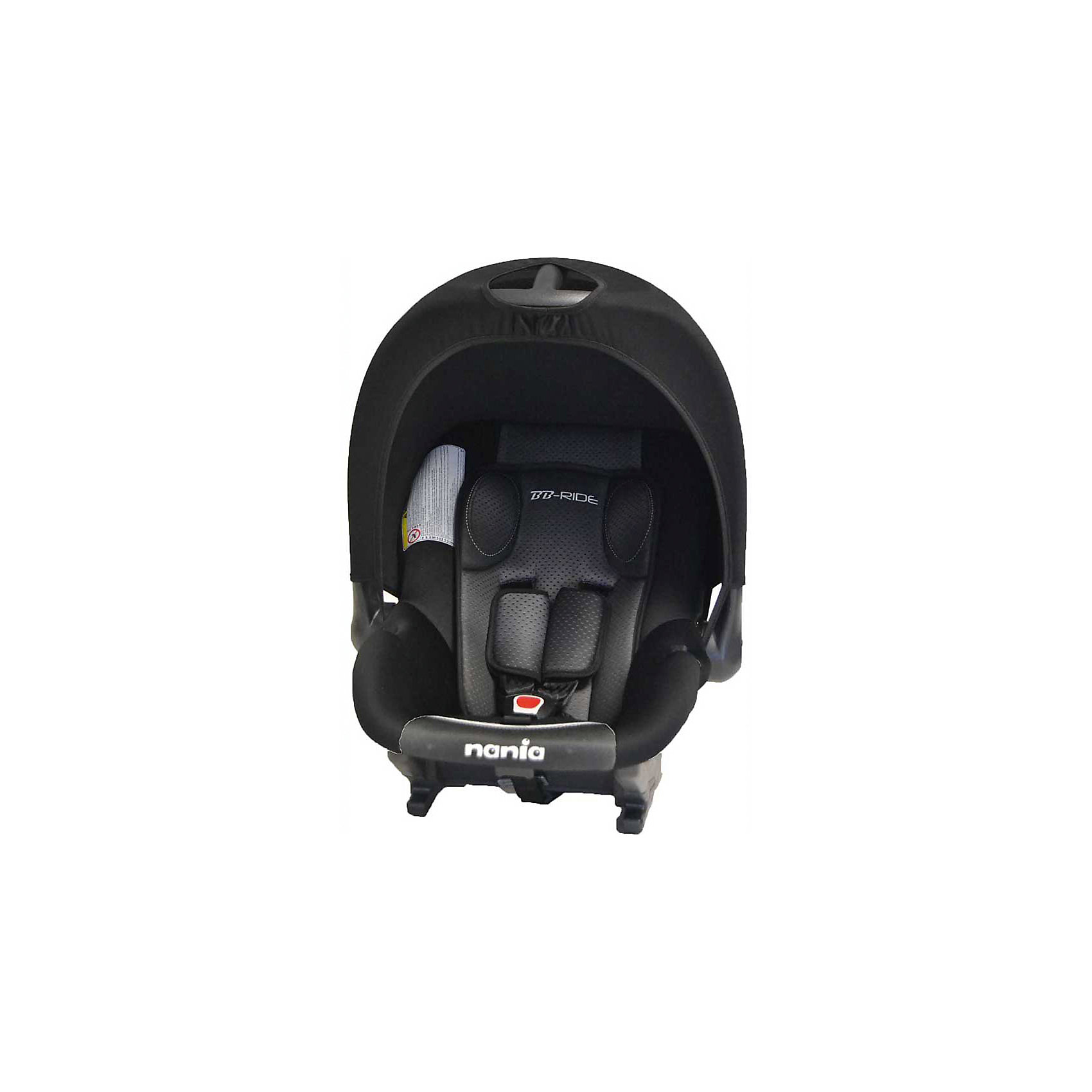 Автокресло Baby Ride 0-13 кг, GRAPHIC, Nania, черный/белый