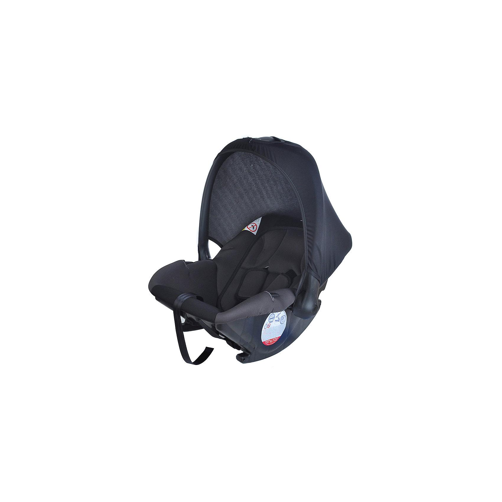 Автокресло Baby Ride 0-13 кг, ROCK, Nania, серый