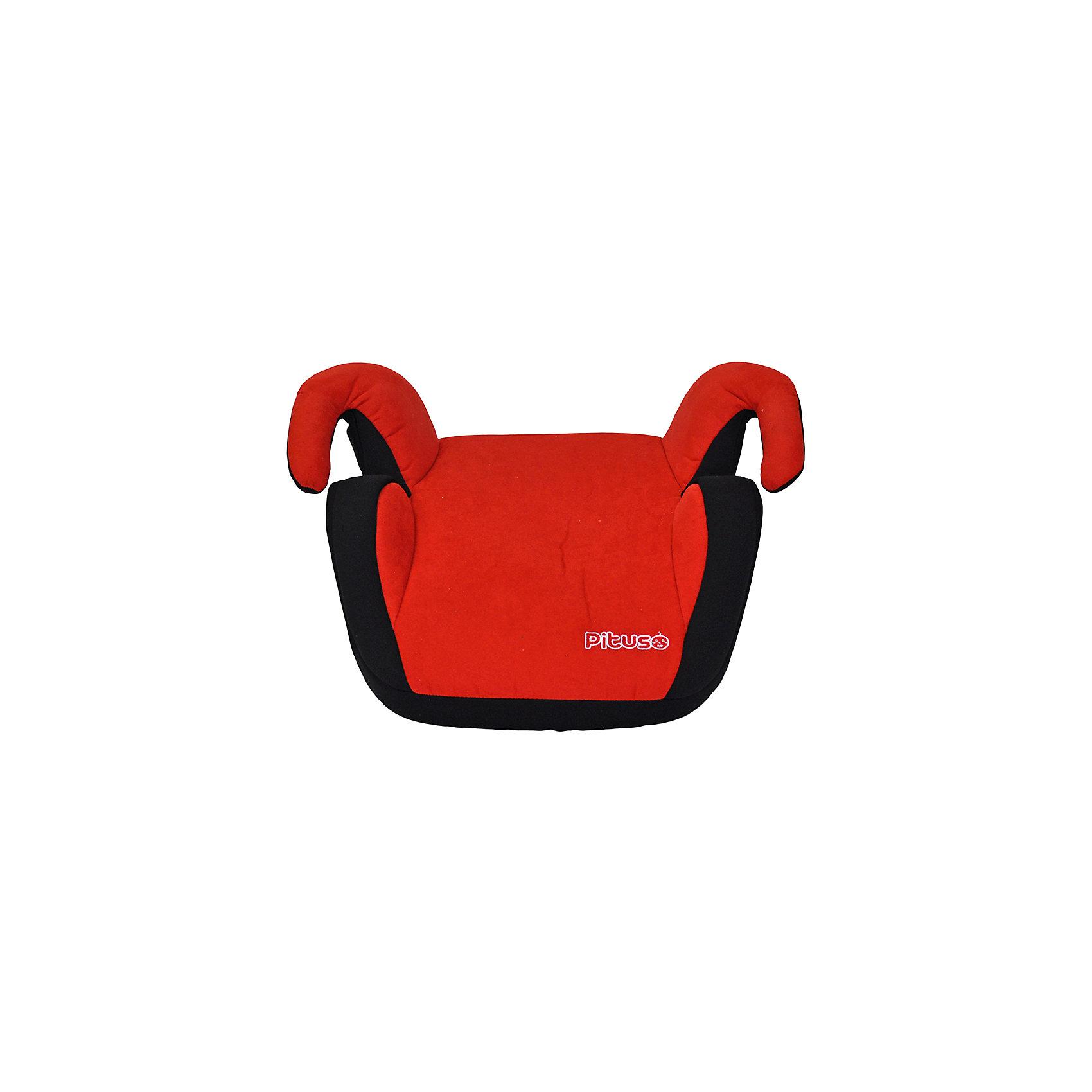 Автокресло-бустер Pituso BILBAO 9-36 кг, красный/черный