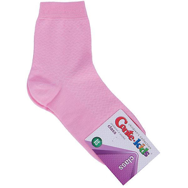 Носки для девочки Conte-kidsНоски<br>Детские носки известной марки Conte-kids.<br>- Мягкие,  эластичные,  удобные и практичные.<br>- От белорусского производителя. <br>- Для девочек и мальчиков. <br><br>Состав: 50% - хлопок, 47,2% - полиамид, 2,8% - эластан.<br>Ширина мм: 87; Глубина мм: 10; Высота мм: 105; Вес г: 115; Цвет: розовый; Возраст от месяцев: 96; Возраст до месяцев: 108; Пол: Женский; Возраст: Детский; Размер: 22; SKU: 4830292;