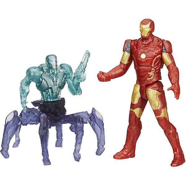 Мини-фигурки Мстителей, Marvel Heroes, B0423/B1482Коллекционные и игровые фигурки<br>Мини-фигурки Мстителей, Marvel Heroes, B0423/B1482.<br><br>Характеристики:<br><br>- В комплекте: фигурка Железного Человека, разборная фигурка дрона Альтрона 001<br>- Высота фигурки Железного Человека: 6 см.<br>- Материал: высококачественный пластик<br>- Размер упаковки: 4,4x16x14 см.<br><br>Набор «Мини-фигурки Мстителей, Marvel Heroes» от Hasbro непременно привлечет внимание вашего ребенка и не позволит ему скучать. Знаменитый Железный Человек, герой из команды «Мстителей», снова готов встретиться лицом к лицу со злом. И даже коварный и жестокий Альтрон не сможет помешать Тони Старку и не остановит его команду. В этом наборе мини-фигурок имеется одна детализированная фигурка Железного Человека и необычная фигурка дрона Альтрона 001. Дрон выглядит как жуткое механическое существо: до пояса киборг-андроид, а ниже пояса робот-паук с множеством конечностей. Фигурки подвижные. Они имеют по 5 точек артикуляции. Фигурку дрона можно разобрать по частям. Набор приурочен к фильму «Эра Альтрона», в котором рассказывается о новейших приключениях «Мстителей» и их борьбе против коварного искусственного интеллекта Альтрона.<br><br>Мини-фигурки Мстителей, Marvel Heroes, B0423/B1482 можно купить в нашем интернет-магазине.<br>Ширина мм: 159; Глубина мм: 44; Высота мм: 140; Вес г: 979; Возраст от месяцев: 48; Возраст до месяцев: 144; Пол: Мужской; Возраст: Детский; SKU: 4833572;