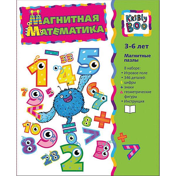 Фото - Kribly Boo Магнитная книжка Магнитная математика конструктор kribly boo основы математики