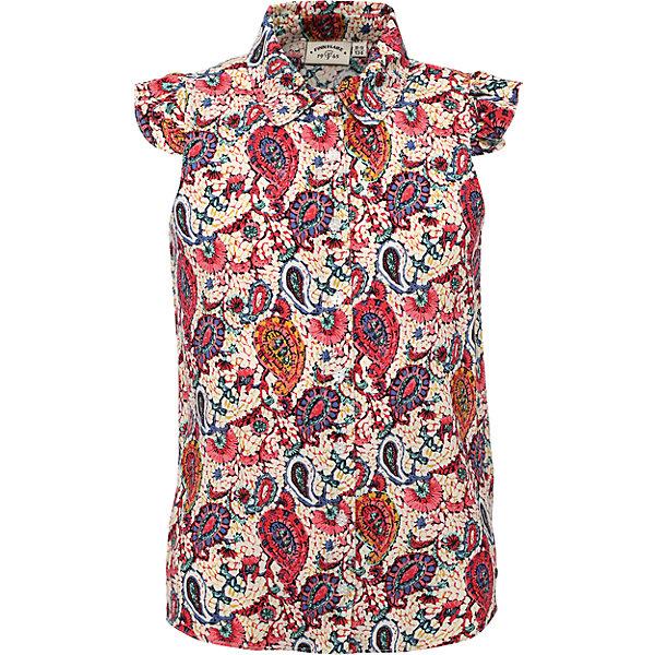 Finn Flare Блузка для девочки Finn Flare finn flare футболка для девочки