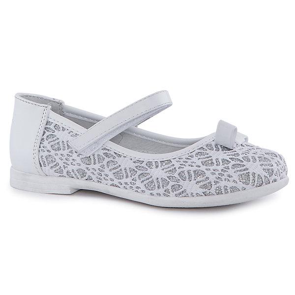 Купить Туфли для девочки Mursu, Китай, белый, 28, 27, 29, 32, 30, 31, Женский