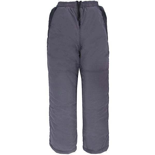 Брюки для мальчика DAUBERВерхняя одежда<br>Характеристики товара:<br><br>• цвет: серый<br>• состав ткани: 100% полиэстер<br>• подкладка: 100% полиэстер <br>• утеплитель: 100% полиэстер (синтепон)<br>• сезон: зима<br>• температурный режим: от -20 до +10 <br>• плотность наполнителя: 200 гр/м?<br>• особенности модели: спортивный стиль<br>• пояс: резинка<br>• страна бренда: Россия<br>• страна изготовитель: Россия<br><br>Серые детские брюки комфортно сидят, не вызывают неудобств, быстро высыхают. Бренд Dauber - это стильный продуманный дизайн и неизменно высокое качество исполнения. Брюки для ребенка сделаны из влагоустойчивого утеплителя и прочного грязеотталкивающего верха. Детские брюки обеспечат ребенку комфорт благодаря мягкой резинке в поясе. <br><br>Брюки Dauber (Даубер) для мальчика можно купить в нашем интернет-магазине.<br>Ширина мм: 215; Глубина мм: 88; Высота мм: 191; Вес г: 336; Цвет: серый; Возраст от месяцев: 156; Возраст до месяцев: 168; Пол: Мужской; Возраст: Детский; Размер: 158/164,146/152,134/140,122/128; SKU: 4862324;